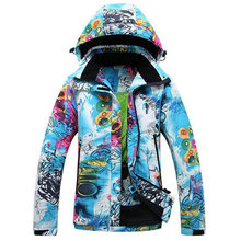 Snowboarding Jackets Snowboard Jacket Women Winter Coats for Snowboard Women's Winter Jacket Outdoor Sports Jacket Skiing Hoodie burton gmp eco strapped snowboard jacket gator green mens