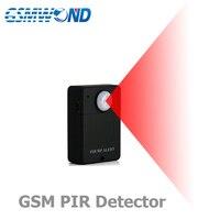 Мини GSM сигнализация внутри беспроводной детектор движения, датчик движения, домашняя система охранной сигнализации, монитор, функция прос...
