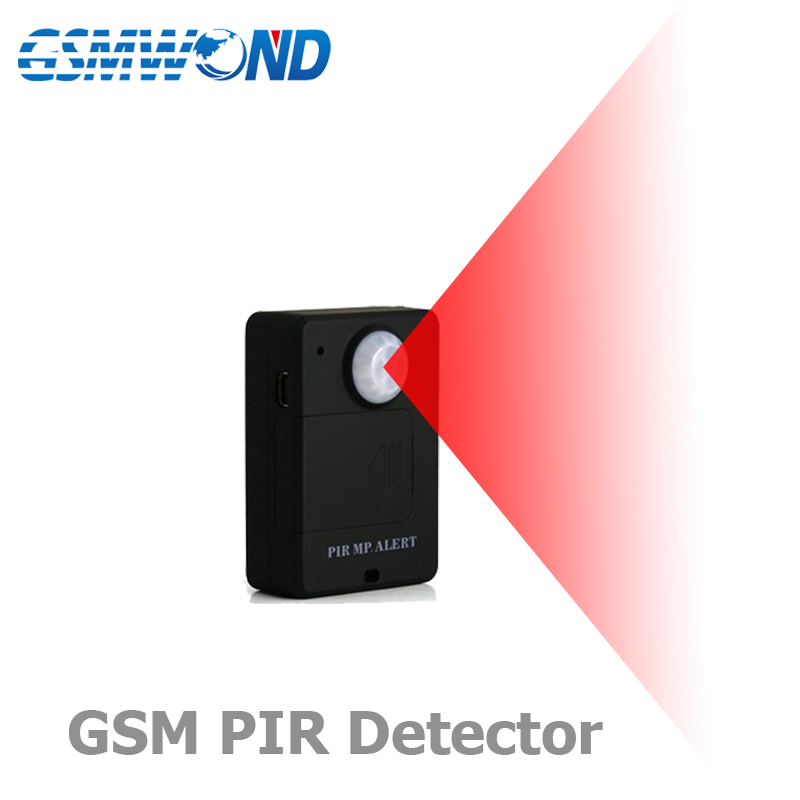 Mini GSM Alarm System Innen Wireless motion detektor, PIR Sensor, Home security alarm system, monitor hören funktion, Infrarot