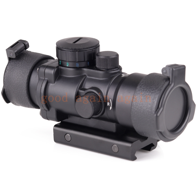 Hunting Riflescope Tactical 3.5X30 RGB laser sight dot red Tri-Illuminated Combo Compact Scope Fiber Optics Green Sight hot sale 2 5 10x40 riflescope illuminated tactical riflescope with red laser scope hunting scope