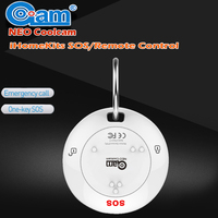 NEO COOLCAM IHOME KITS NAS RC01T Wireless Arm And Disarm SOS Remote Control Alarm System For