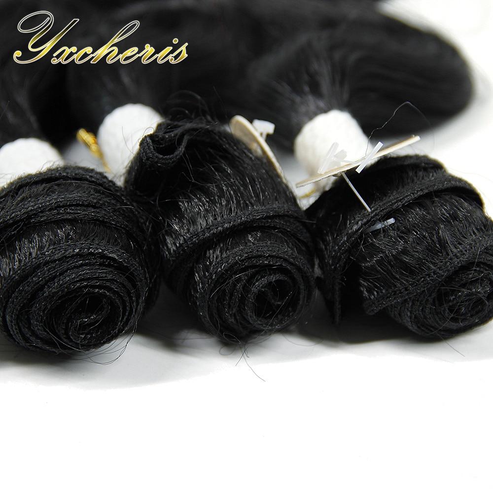 YXCHERISHAIR brasilianska kroppsvåg 3 buntar med - Syntetiskt hår - Foto 5