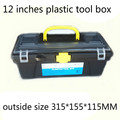 "12"" Plastic Tool Box size 315*155*115mm for Electric Drill Accessories  Toolbox  12 Inch case Parts box Household receive a case"