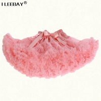 Bbay Girl Tutu Skirts Girls Princess Dance Costumes Rainbow Tutu Lace Skirts Kids Petticoat Jupe Enfant