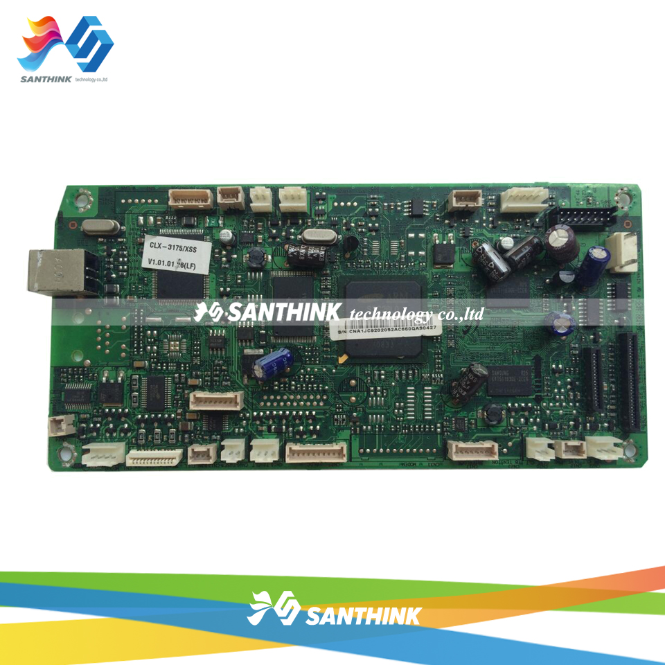 100% Test Main Board For Samsung CLX-3175 CLX 3175 CLX3175 Formatter Board Mainboard oil free air compressor high pressure gas pump spray woodworking air compressor small pump 3 1100 100l