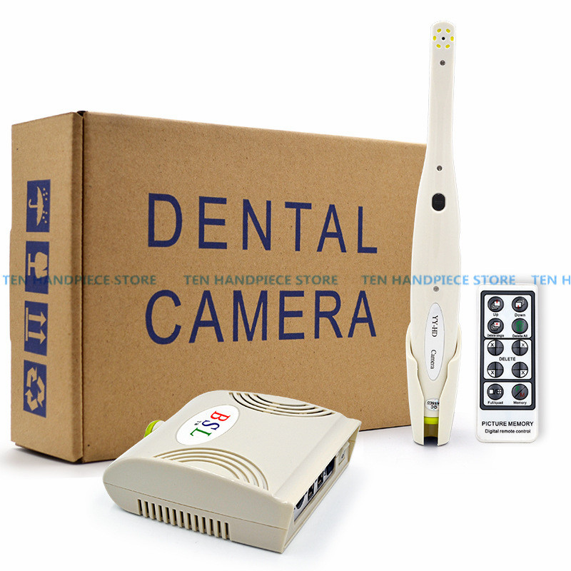 2018 good quality 5.0 Mega Pixels Intra oral Endoscope Dental Camera 6 LED Light Monitoring Inspection for Dentist Oral dental irrigator parts water hose flosser tooth cleaner rinse handle oral water jet replacement tube for wp 100 for wp 900