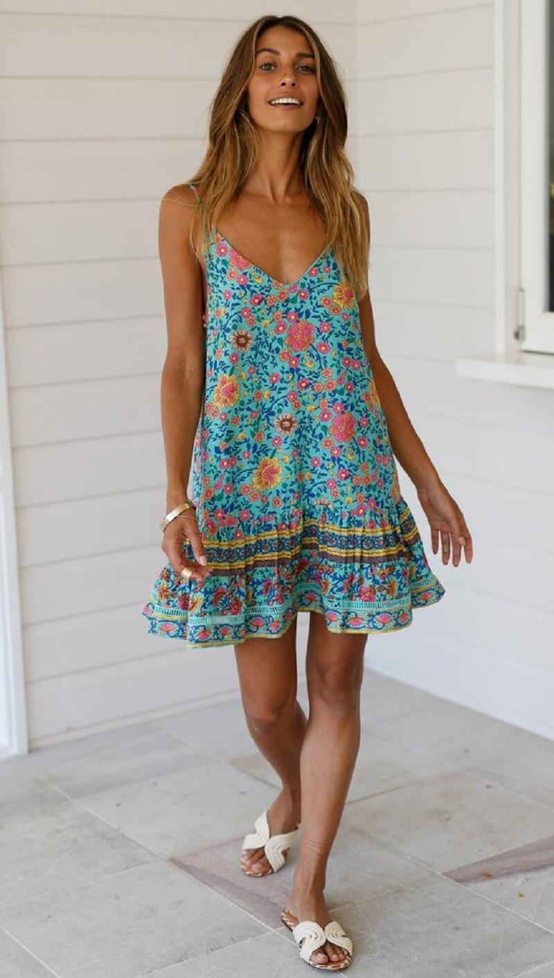 BCP_9810_1024x1024 vieunsta vintage floral imprimir praia vestido de verão das mulheres novas com decote em v plissado uma linha de mini vestido elegante vestido plissado vestido de verão cinto - HTB1SXYTaOjrK1RjSsplq6xHmVXa0 - VIEUNSTA Vintage Floral Imprimir Praia Vestido de Verão Das Mulheres Novas Com Decote Em V Plissado Uma Linha de Mini Vestido Elegante Vestido Plissado Vestido de Verão Cinto