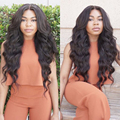"7A Brazilian Virgin Hair Body Wave Brazilian Hair Bundles 1pcs Brazilian Body Wave 8""-28"" Soft And Silky Human Hair Extension"