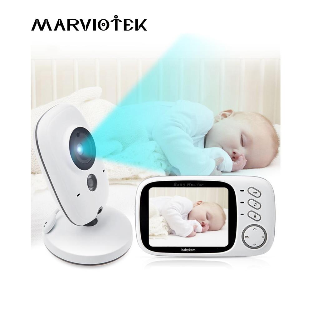 Детский спальный монитор детский монитор с камерой беспроводной видео Детский Монитор радио няня 2 способа аудио разговор Детский Монитор s