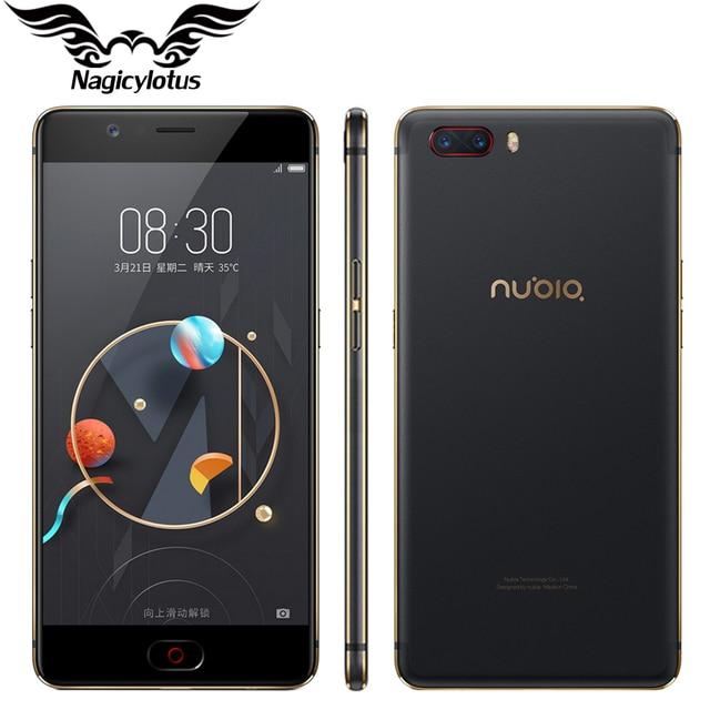 2017 Original Nubia M2 M2 4G LTE Mobile Phone 4GB RAM 64GB ROM Octa Core 5.5inch 16MP Dual 13MP Android N 3000mAh SmartPhone