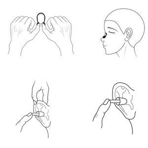 Image 4 - Xiaomi Yunmai Vestito di Nuoto HD Anti fog Occhiali Clip del Naso Tappi Per Le Orecchie Anti appannamento Anti Acqua auricolare