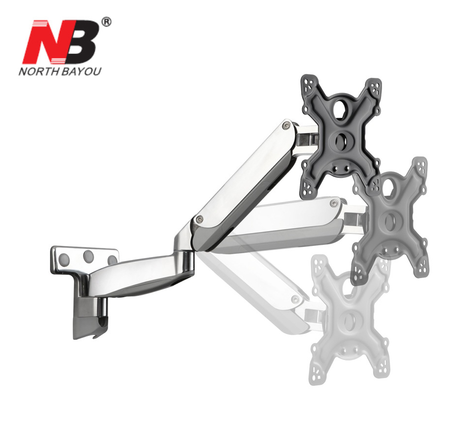 NB UF500 Gas Spring 42-55 inch LED TV Wall Mount Monitor Holder Ergonomical Mount Max.VESA 400*400mm Loading 9-25kgs spring 400