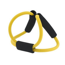 5pcs/lot Yoga Strap Belt Yoga Supplies 8 Characters Pull Rope Pilates Body Building Fitness Equipment Tool 5 colors available