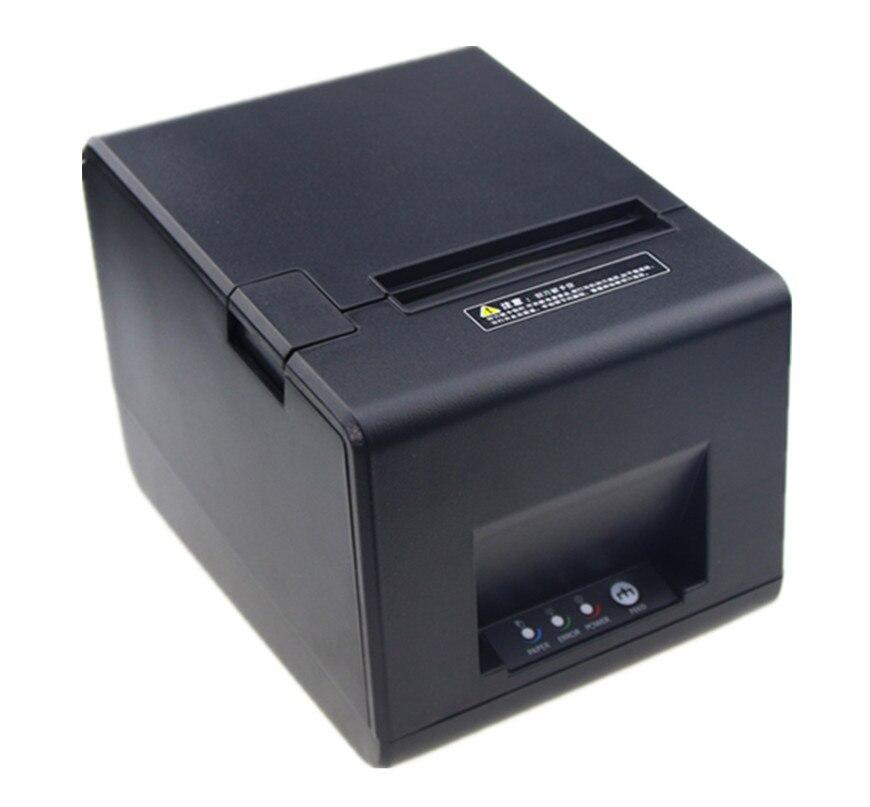 2018 WI-FI соединения POS принтер высокого качества 80 мм получения Билл небольшой принтер билет автоматической резки скорость печати быстро