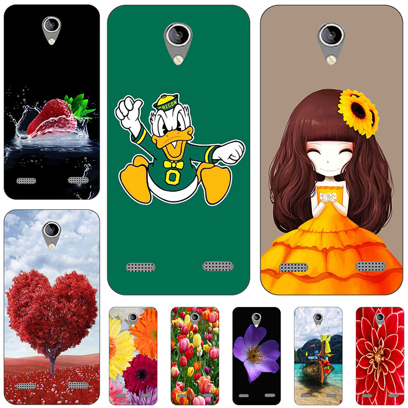 45 styles Phone Case For ZTE Blade A520 5.0 inch Soft TPU Back Cover Coque For ZTE Blade A520 ZTE A520 Phone Cases Funda