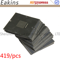 419 Pcs 90 90mm BGA Reballing Stencils For Notebook Desktops North And South Bridge Graphics Card