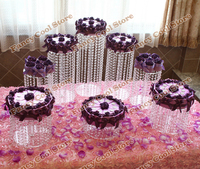 8pcs/set Wedding Cake Cupcake Stand Cake Holder Decorating Display stands Wedding Party Birthday Party Cake swing shelf 08D1