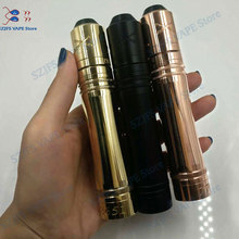 все цены на 2019 Newest side mech mod vape for 510 Thread Mechanical mod 18650 20700 battery Clearomizer E Cigarette Mod 25mm diameter Av онлайн