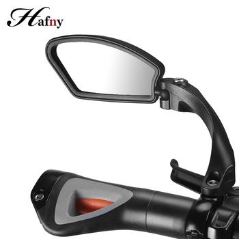 Hafny rower rowerowy lusterko na kierownicę lusterko wsteczne tylne lusterko bezpieczeństwa dla rowerów MTB Bike lusterko wsteczne akcesoria rowerowe tanie i dobre opinie ROCES (运动及娱乐) HF-MR080 HF-MR081 HF-MR081L(Left) HF-MR081R(Right) HF-MR080L (Left) Black Handlebar (22 2 mm diameter)