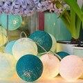 3 mètres 20 LED boule de coton guirlande lumineuse vacances mariage fête de noël chambre fée lumières extérieur guirlande lumineuse Decoration20