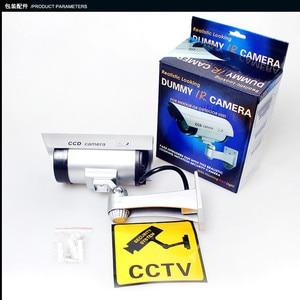 Image 5 - Keeper עמיד למים Dummy מזויף CCTV מצלמה עם מהבהב LED עבור חיצוני או פנימי מציאותי מחפש מזויף מצלמה עבור אבטחה
