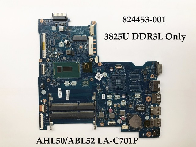 Original laptop Motherboard for HP Pavilion 15 AC 824453 001 AHL50 ABL52 LA C701P 3825U Processor_640x640 original laptop motherboard for hp pavilion 15 ac 824453 001 ahl50