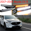 Video LED CX 5 Daytime Light 2017 2018 CX 5 Fog Light CX 5 Headlight Axela