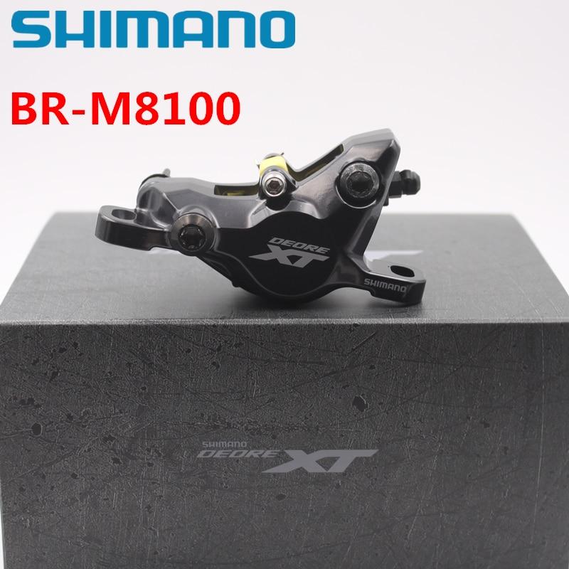 Shimano Mountain Bikes DEORE XT Brake Caliper BR M8100 with G03A J04C pad Hydraulic Disc Brake