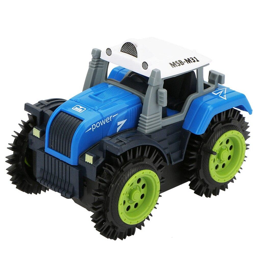 Doelbewust Kinderen Flip Speelgoed Auto Elektrische Stunt Auto (boer) Kind Dump Truck Simulatie 4 Wheel Drive Jeep Elektrische Speelgoed Auto 2019 Nieuwe
