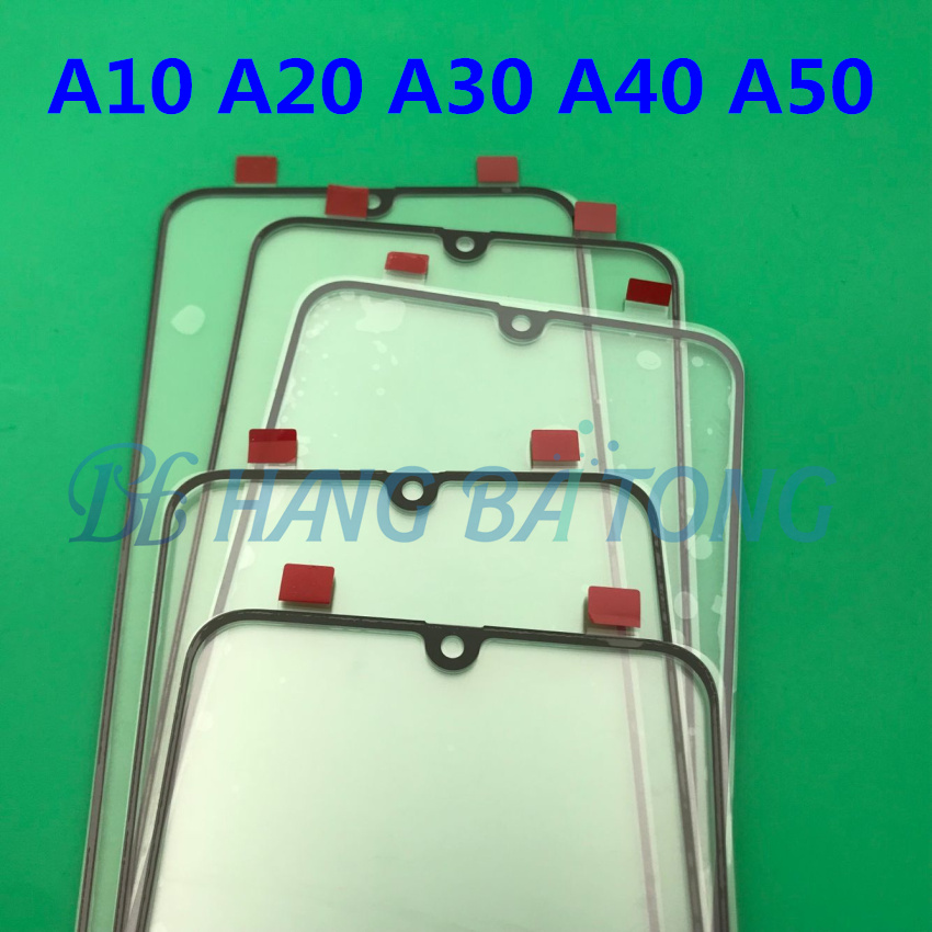 Image 4 - 100pcs Original Front Panel Sensor LCD Display Glass Cover Lens For SAMSUNG Galaxy A10 A20 A30 A40 A50 A60 A70 A80 A90 2019-in Mobile Phone Touch Panel from Cellphones & Telecommunications