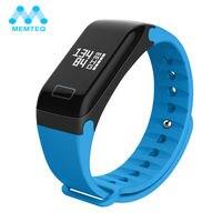 MEMTEQ Smart Armband Blutdruck Sauerstoff Herzfrequenz Fitness Armband Schlafüberwachung Sport Uhr Für Android 4.4 iOS 8.0