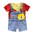 bear Boys Rompers Shortalls Baby boys Clothes jumpsuit newborn romper character costume roupa infantil