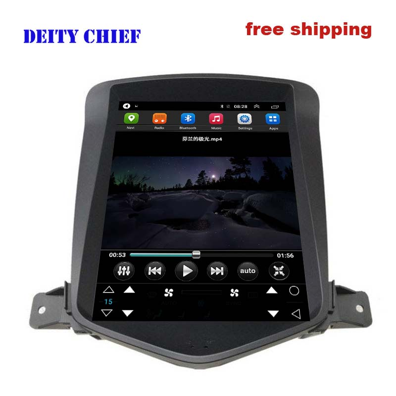 8cores Android 8 1 Car Multimedia Player For Chevrolet Cruze 2006 2014 GPS Navigation Vertical screen