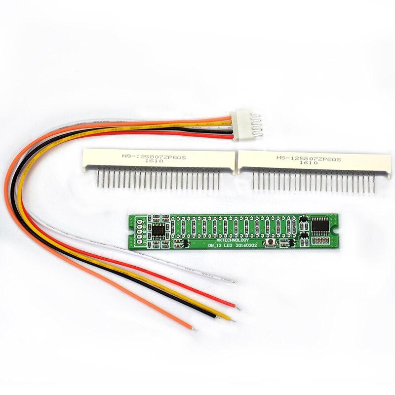 Aiyima Mini Dual 12 Taseindikaator VU Meter Stereo-võimendi Board - Kodu audio ja video - Foto 6