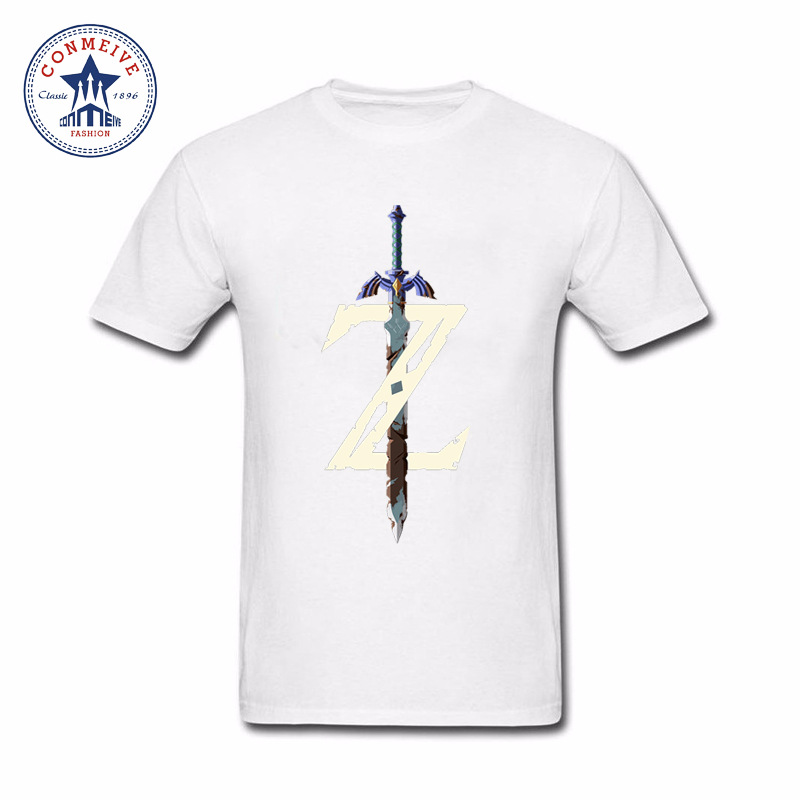 NEW Men FUNNY Zelda cotton T Shirt The Ledgend of Zelda T Shirt Tshirt Game Clothing Tee