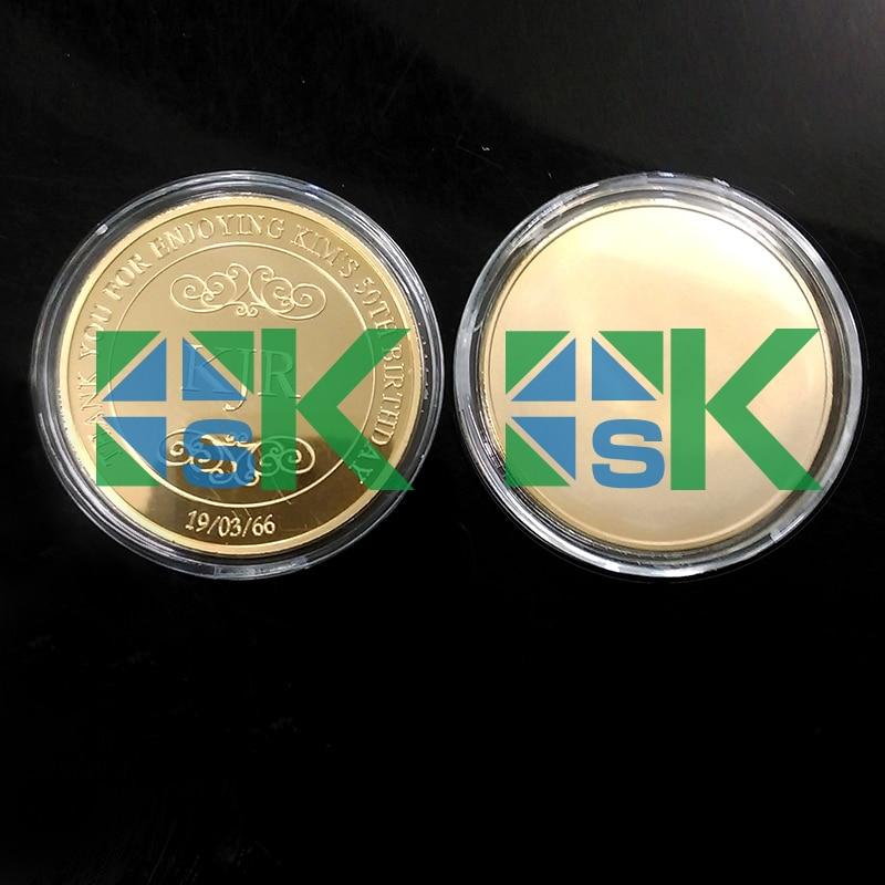 2016 Custom Design Coin How to make the Custom Brithday Gold Plated Coins Custom Coins Made