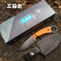 Sanrenmu S768 Fixed Blade Knife 12C27 Blade Camping Hunting Tactical bushcraft Outdoor Survival Utility Fishing EDC Tool Knives