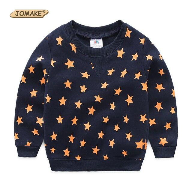 Trui Met Sterren.Sterren Volledige Afdrukken Jongens Sweatshirts Herfst Casual