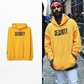 2016 Spring New Justin Bieber Fear Of God Purpose Tour Yellow Men Woman Hoodies Long Sleeve Man Lovers Hooded Sweatshirt S-3XL