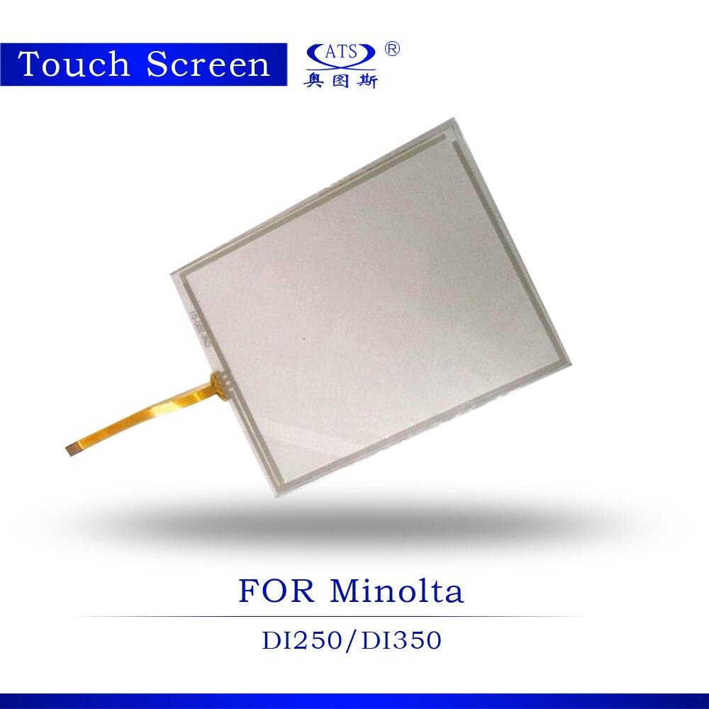 1PCS Photocopy machine Touch Screen For Konica Minolta DI250 DI350 Copier parts touch screen panel Copier Machine high quality copier spare parts for konica minolta bh223 bh423 touch panel touch screen 5pcs lot