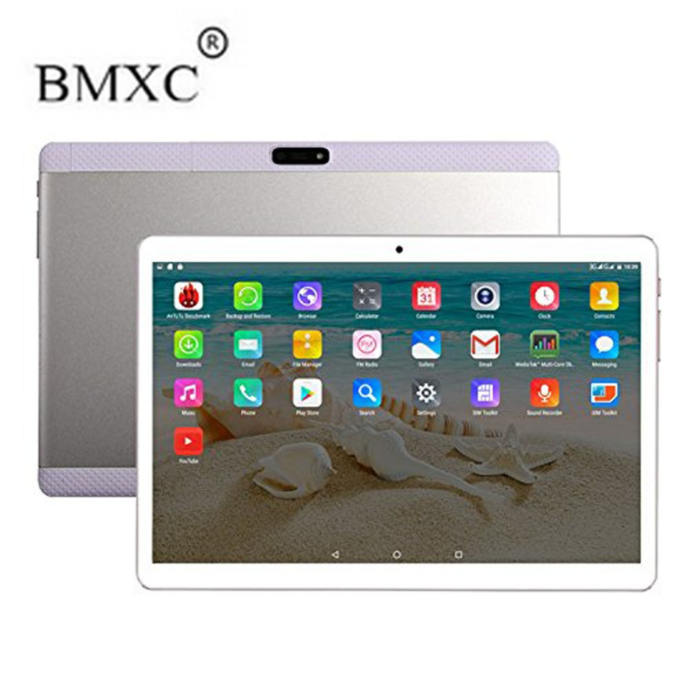BMXC 10 1 Inch Tablet PC Android 6 0 3G Android6 0 Octa Core 2GB RAM