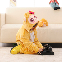 Children Pajamas Set Cosplay Cartoon Animal Monkey Onesie Kids Sleepwear Baby Long Sleeve Pijama Infantil Kids