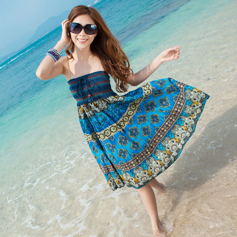 Y&G new 2015 casual summer beach dress,sexy fashion women dress ...