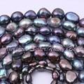 """Envío gratuito 5-7 / 8-9 / 9-10 / 10 - 11 mm naturales perlas de agua dulce collar DIY joyería que hace perlas capítulo 14.5 """""""