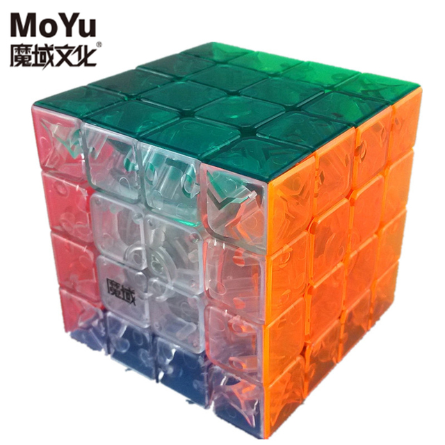 A estrenar Moyu AoSu 62mm 4x4x4 Magic Speed Cube Puzzle Cubos de Juguetes Para Niños Juguetes educativos