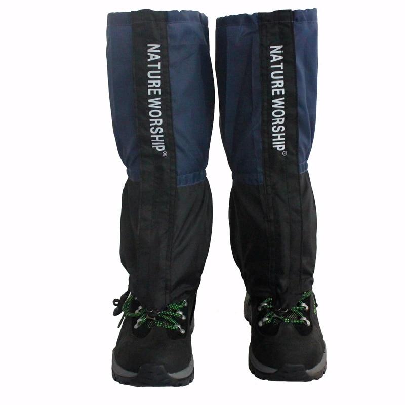 Outdoor Waterproof Walking Hiking Climbing Hunting Snow Legging Gaiters 1 Pair