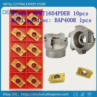 Cuchillo BAP400R 63-22-4T de fresa con APMT1604 PDER, APKT Dia 63mm face milling cutter, para la máquina de fresado