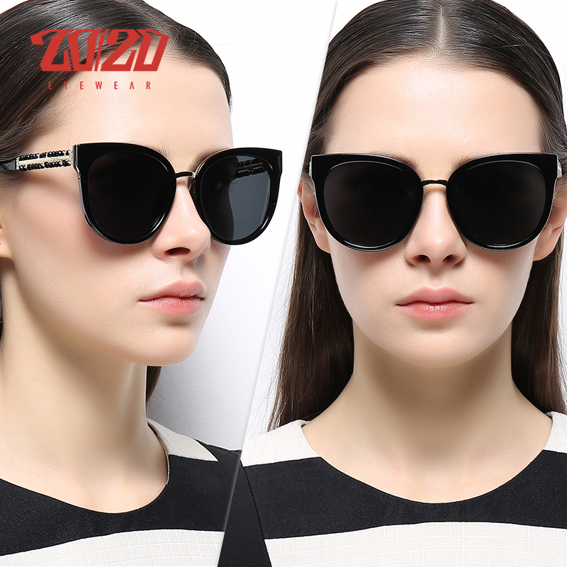 Polarized Retro VINTAGE Square Cat Eye Aviator Fashion Women Sunglasses