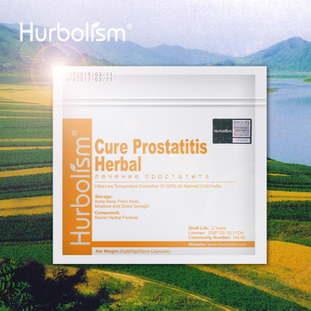 Natural Herbal Ingredients to Cure Prostatitis and Nourish Prostate Functions, Improve Male Sex Ability naturalcure cure prostatitis capsules cure prostate diseases relieve prostate pain and help solve urination problems 50 pills