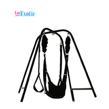 TOUGHAGE Adult Sex Swing with Stand Games for Married Couples Fetish Sex Position Bondage Swing Frame Sex Furnitures PF3218